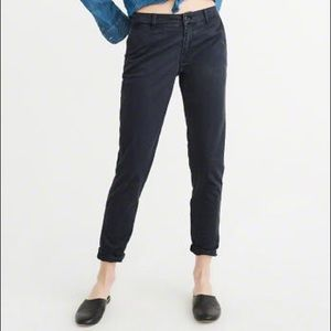 Pants - Abercrombie and Fitch Navy Jeggings